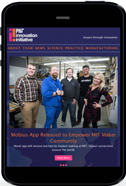 MIT Innovation Initiative home page