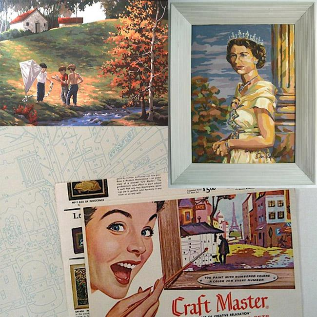 Paint By Number Museum paintings and kit