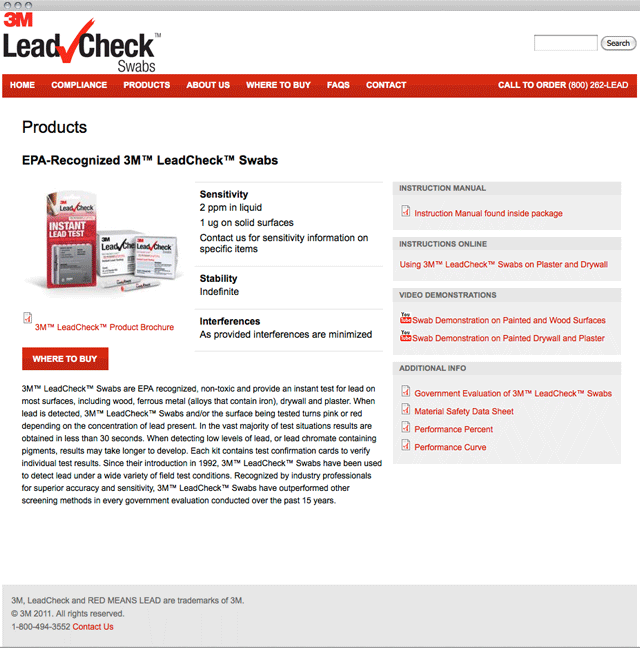 Leadcheck Product Page